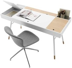 cupertino desk by bo concept | fenwick