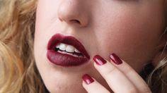 Mac Matte women\'s Lipstick Diva color dark red. Starting at $1