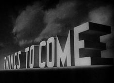Things to Come (1936) Blu-ray movie title