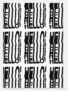10 Glitchy Type Posters That Look Like A Photocopier Went Haywire | Co.Design | business + design