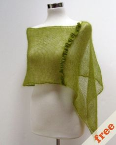 everyday wrap - cocoknits by julie weisenberger  Free pattern