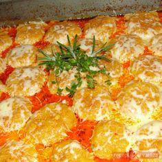 Bújtatott gombóc Bacon, Curry, Ethnic Recipes, Food, Curries, Essen, Meals, Yemek, Pork Belly