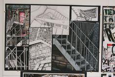 Research drawings Higher Morrison's Academy A Level Art Sketchbook, High School Art Projects, Art Assignments, Ap Studio Art, Ap Art, High Art, Built Environment, Environmental Art, Art Portfolio