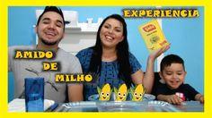 AMIDO DE MILHO -EXPERIENCIA PARA CRIANÇAS