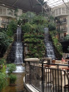 Stay at Opryland Hotel.  Nashville, TN. Now that I've seen the inside-  staying there is a must!!