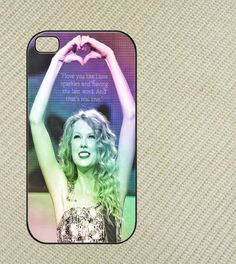 Taylor swift quotes Iphone 4 case, iphone 4s