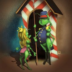 Grinch, Princess Zelda, Fictional Characters, Art, Craft Art, Kunst, Gcse Art, Art Education Resources
