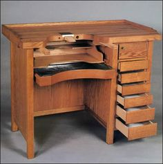 jeweler's bench - Campos Custom Woodworks