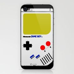 Nintendo Game Boy iPhone & iPod Skin