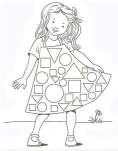 Preschool Worksheets, Kindergarten Math, Classroom Activities, Learning Activities, Preschool Activities, Mathematics Geometry, Teaching Geometry, Teaching Shapes, Math For Kids