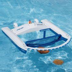 Jet Net Remote Pool Skimmer #BatteryPowered, #Pool, #Remote