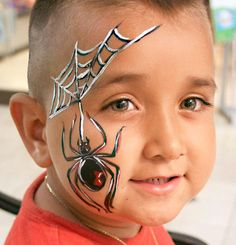 spider face paint - Google zoeken