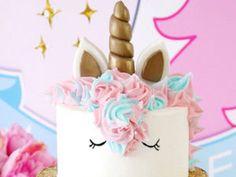 Tuto du gâteau licorne de Bird's party