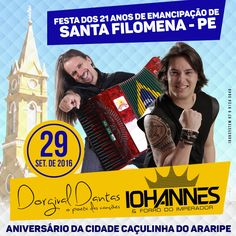 Santa Filomena Atual: Oficial: Festa dos 21 Anos de Emancipação de Santa...