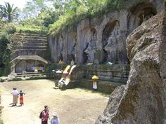 Elephant lairs: One of oldest cave in Bali called the Goa Gajah (the Elephant Cave). Photo by Electra Gillies.