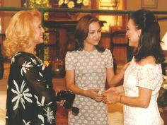 Branca (Susana Vieira), Eduarda (Gabriela Duarte) e Helena (Regina Duarte) em Por Amor