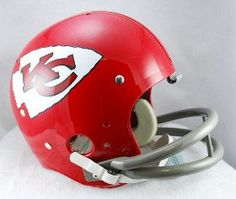 Kansas City Chiefs 1963-73 TK Helmet