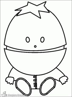 South Park color page - Coloring pages for kids - Cartoon ...