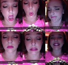 Abby, obviously she doesn't need to work on her facials. She's got plenty. ♡@tallblondechloe♡