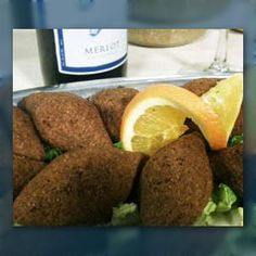 Kibbee!  one of my favorite! lebanese food :)