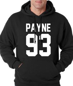Hoodie Payne 93 Hooded Birth Year 1993 Sweatshirt Printed #1146 from $24.99 at xpressiontees.etsy.com | #ExpressionTees