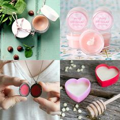 How to make lip balm: 4 delicious recipes - Mollie Makes Homemade Lip Balm, Diy Lip Balm, Homemade Skin Care, Natural Beauty Remedies, Lip Balm Recipes, Mollie Makes, Luanna, Handmade Cosmetics, Beauty Recipe