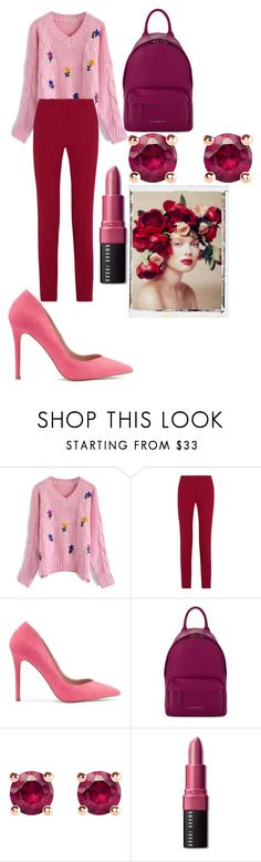 """Без названия #13"" by missis-akvamarine ❤ liked on Polyvore featuring Chicwish, Theory, Miss Selfridge, Givenchy, Thomas Sabo, Bobbi Brown Cosmetics and Language Of Flowers"