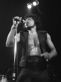 James Brown at The Venue in Victoria, south London, in September 1979
