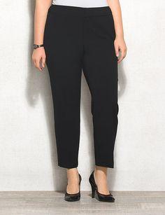 roz&ALI Plus Size Signature Fit Ankle Pants