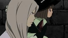 Soul Eater - Mifune and the Witch Angela Soul Eater Stein, Anime Rules, Geek Girls, Avatar The Last Airbender, End Of The World, Manga Art, Chibi, Witch, Cartoons