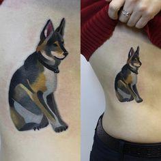doge tattoo -