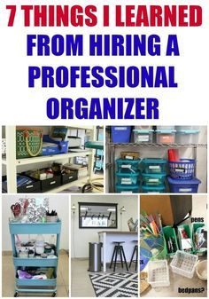 7 Things I Learned From Hiring A Professional Organizer - Refunk My Junk Organisation Hacks, Clutter Organization, Office Organization, Organization Ideas For The Home, Organization Station, Basket Organization, Declutter Your Home, Organize Your Life, Organizing Your Home
