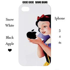 Snow White Iphone Case-,snow white iphone cover,Iphone 5, Iphone 4,Iphone 4s,snow white iphone 5,disney iphone 5,disney iphone 4,snow white