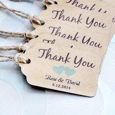 personnalis merci mariage tags avec 6 couleurs coeur vous pouvez choisir papier tiquettes de faveur de - Etiquette Mariage Personnalise