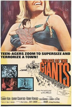 Village of the Giants (1965) starring Tommy Kirk, Johnny Crawford & Ronny Howard