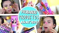 PROBANDO PRODUCTOS ASIÁTICOS!! | Productos de BELLEZA Asiaticos