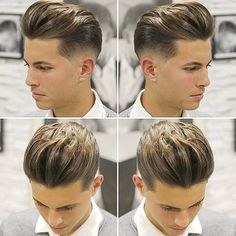 Men's hairstyle trends for 201. Volume taper undercut