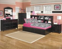 The 'Jaidyn' has a unique studio bookcase bed available in twin or full size Bookcase Bed, Cottage Design, Toddler Bed, Twin, Studio, Bedroom, Unique, Furniture, Collection