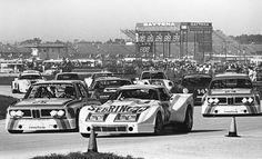 Start of the 1975 Daytona 24 hours