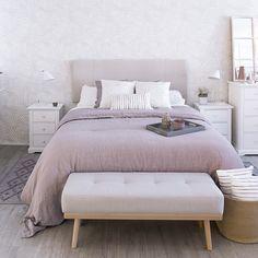 Fondo de pantalla de Palms - Kenay Home - Decoration Inspiration - Preppy Bedroom, Palm Wallpaper, Bedroom Inspo, Home Staging, Room Organization, New Room, Decoration, Interior And Exterior, Sweet Home