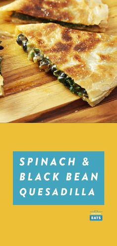 Spinach, Black Bean, and Chipotle Quesadillas | The keys to kickass quesadillas are mixing the filling right in with the cheese and using enough oil to get the tortillas to puff and crisp up golden brown. These vegetarian quesadillas use ingredients you almost certainly already have, making this the ultimate quick and easy weeknight dinner for busy families—and picky eaters! #quickdinnerideas #easydinner #dinnerrecipes #seriouseats #recipes