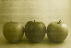 Still Life Apples and Texture, Marlene Ford