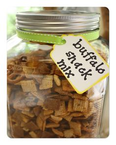 Buffalo Snack Mix - I would increase the buffalo sauce next time because it didn't have as much heat as I like, but I will definitely make it again.
