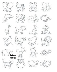 thumbnail images of animals Paper Embroidery, Embroidery Patterns, Stitch Patterns, Stitching On Paper, Sequin Crafts, String Art Patterns, Foil Art, Doodle Designs, Dot Painting