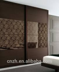 Image Result For Glass Wardrobe Door Designs For Bedroom Indian Glass Shutters Pinterest