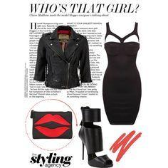 Who's that girl?  #MyStyle #blackdress #partydress #minidress #Leather #leatherjacket #stylist #gorgeous #dark #leatherboots #ankleboots #redlips #fashionset #fashionista #fashionweektrend #lookbook #wonensfashion #trends #bloggerstyle #instafashion