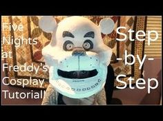 I will totally try this tutorial because I want to be one of the animatronics for halloween. Fnaf Costume For Kids, Foxy Costume, Puppet Costume, Halloween Costumes For Kids, Diy Costumes, Costume Ideas, Halloween Stuff, Fnaf Cosplay, Cosplay Diy