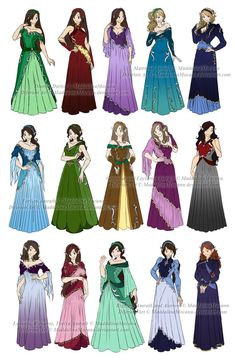 Dress n Clothes Designs: P5 1/2 - Diferion Wedding by MaddalinaMocanu on…