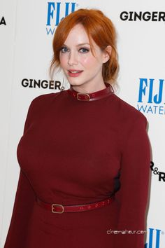 Christina Hendricks ...... She has been nominated for four Emmy Awards for her work on Mad Men