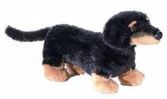 """8"""" Aurora Plush Dachshund Puppy Dog """"Vienna""""  Mini Flopsie Stuffed Animal Toy #Aurora"""